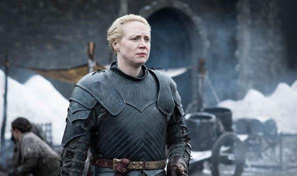 Gwendoline Christie è Lady Brienne di Tarth