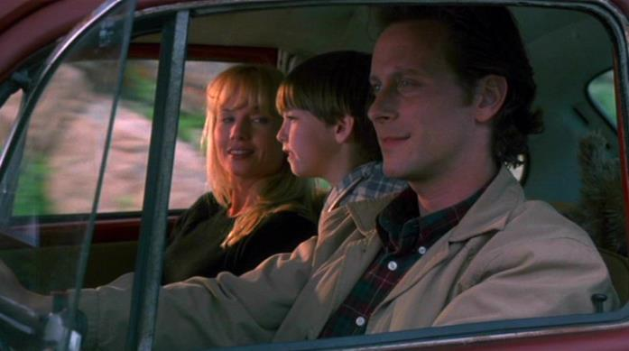"La famiglia Torrance in viaggio verso l'Overlook Hotel (""Stephen King's The Shining"")"