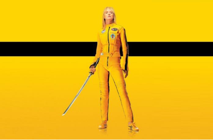 Uma Thurman è Beatrix Kiddo nel poster di Kill Bill