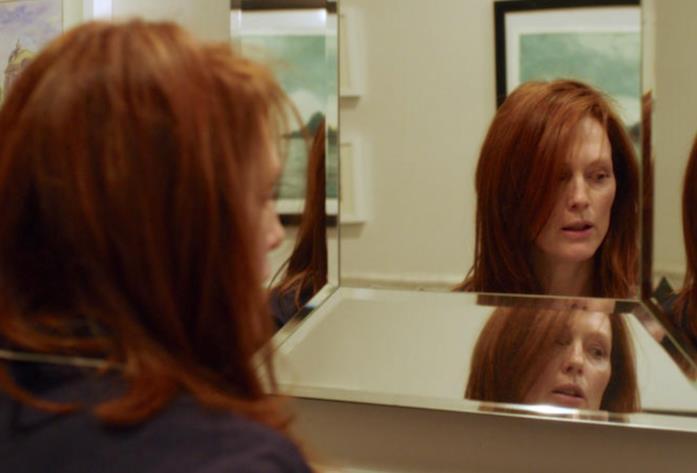 Una scena di Still Alice allo specchio