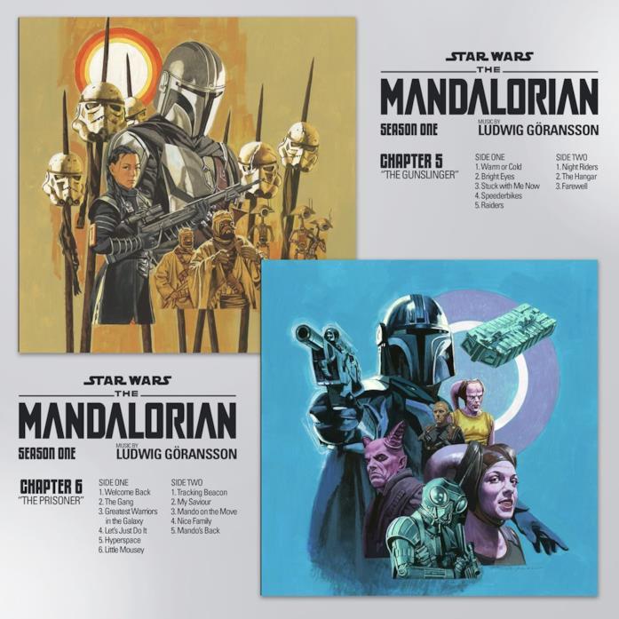 Gli artwork dei Capitolo 5 e 6