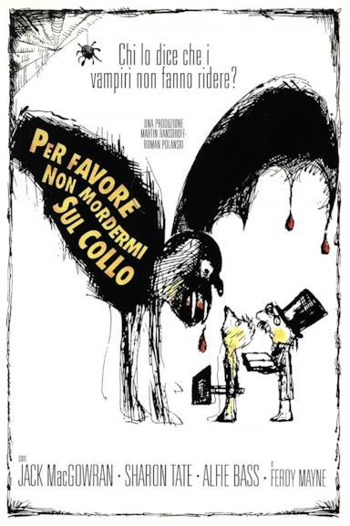 Poster Per Favore, Non Mordermi Sul Collo!