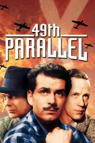 Poster Gli invasori - 49o parallelo
