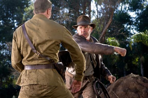 Harrison Ford in una scena del film Indiana Jones e il regno del teschio di cristallo