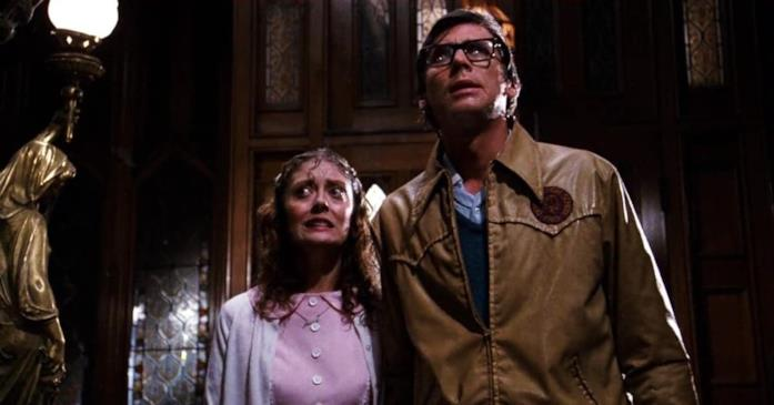 Brad e Janet chiedono ospitalità nel castello