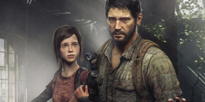 Ellie e Joel in un'immagine da The Last of Us