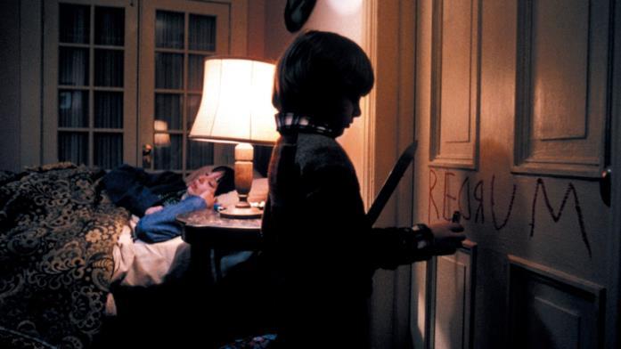 Shelley Duvall e Danny Lloyd in Shining
