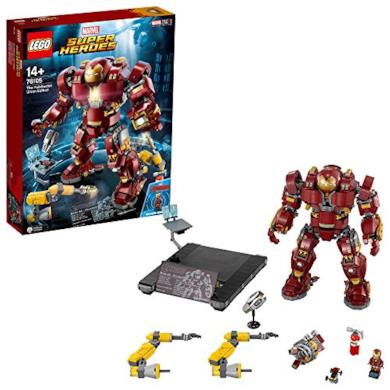 Lego, Marvel Super Heroes 76105, Hulkbuster:Ultron Edition