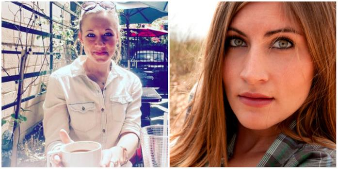 Hilary Dusome e Natalie Chmiel in un collage