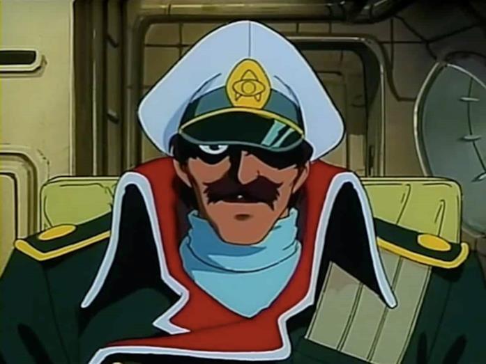 Il capitano Nemo al comando del Nautilus