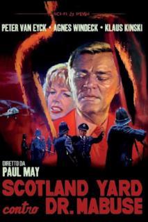 Poster Scotland Yard contro Dr. Mabuse
