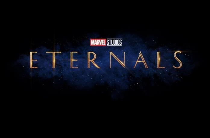 Il poster ufficiale del film The Eternals