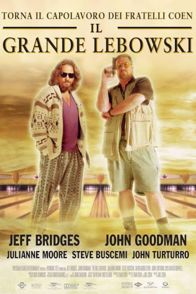Poster Il grande Lebowski