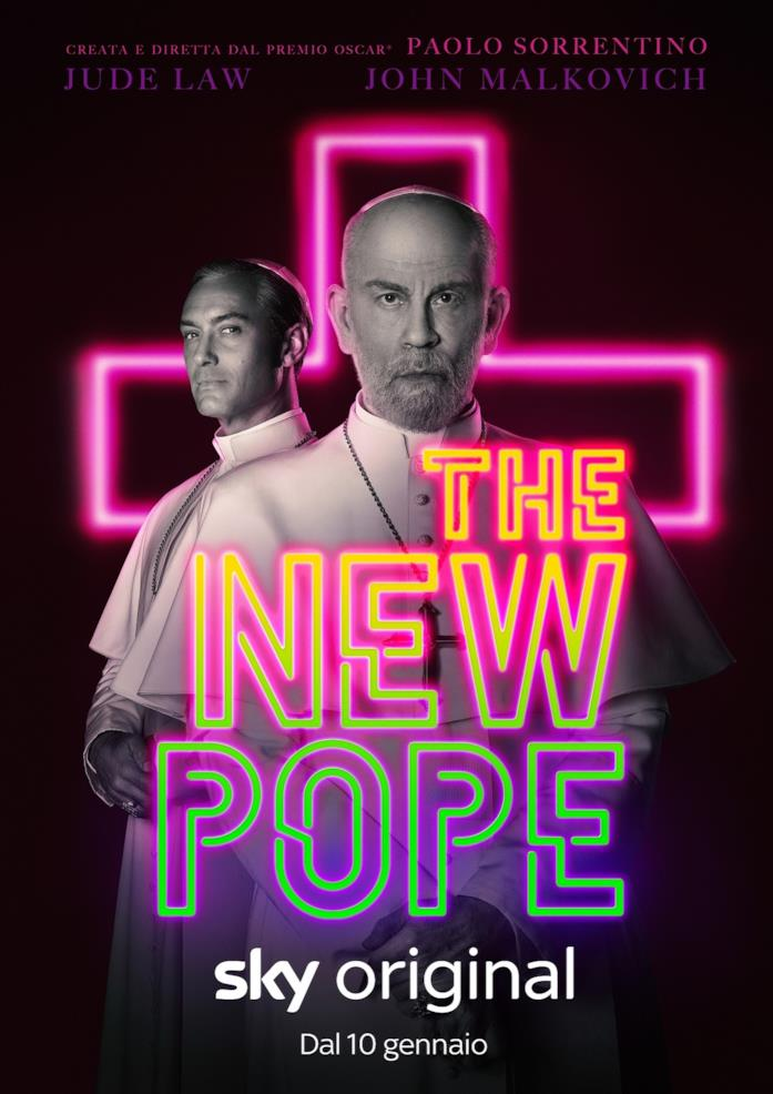The New Pope, il poster