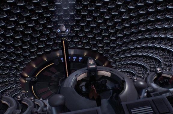 Un'immagine del Senato Galattico