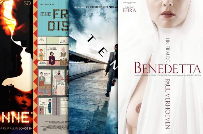 Alcune locandine dei film che dovremmo vedere a Cannes