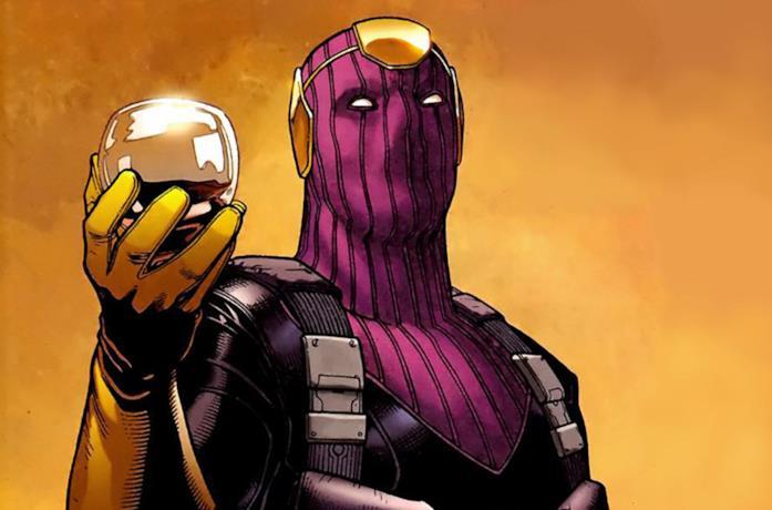 Barone Zemo in una pagina dei Marvel Comics