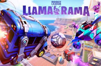 L'evento Llama Rama di Rocket League e Fortnite