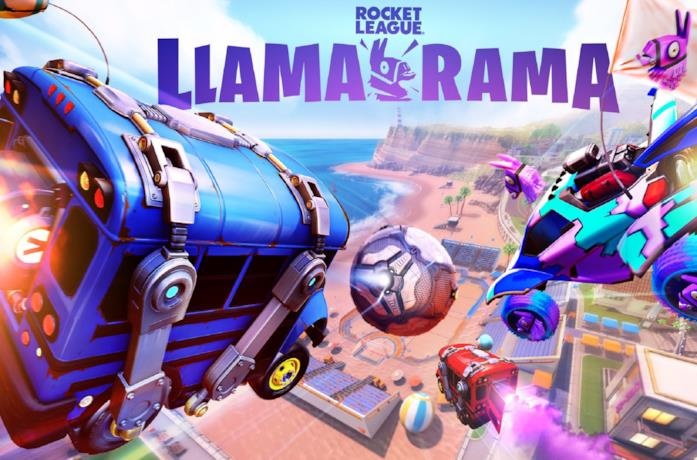 L'evento Llama Rama di Rocket League e Fortnite