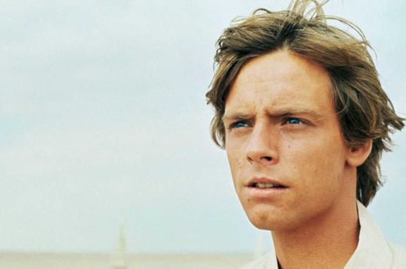Mark Hamill è Luke Skywalker in Star Wars