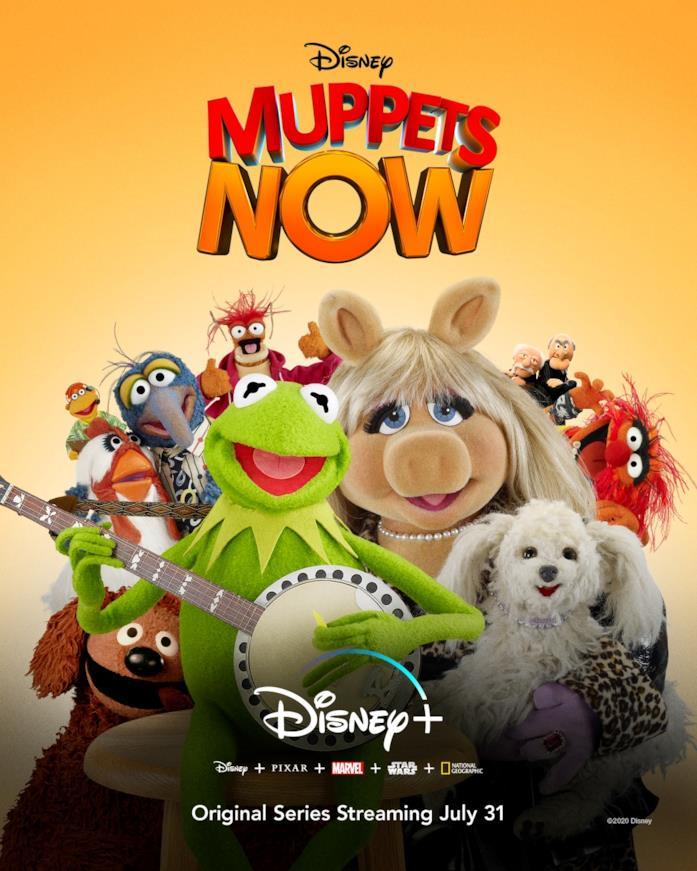 Poster di Muppets Now per Disney+