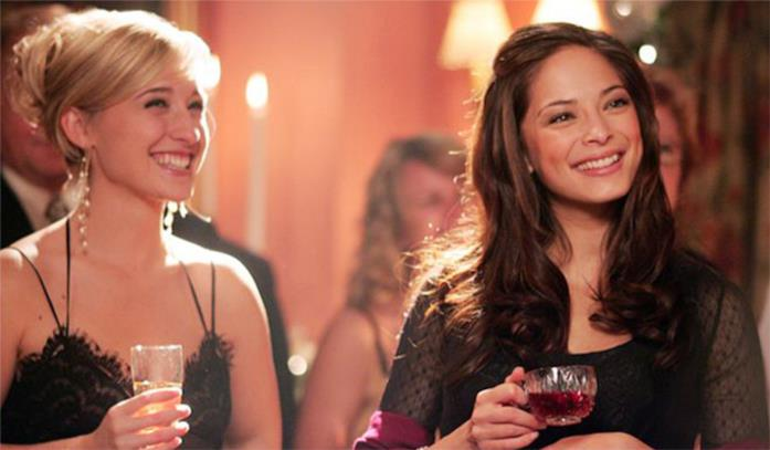 Allison Mack e Kristin Kreuk in Smallville