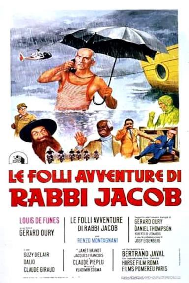 Poster Le folli avventure di Rabbi Jacob