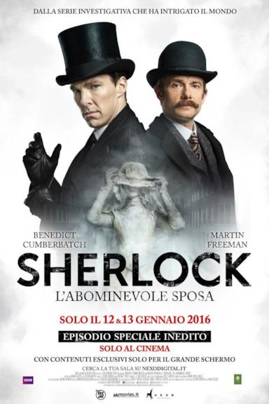 Poster Sherlock - L'abominevole sposa