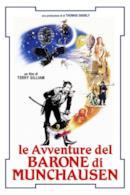 Poster Le avventure del Barone di Munchausen