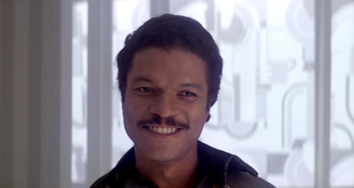 Un'immagine di Billy Dee Williams come Lando Calrissian