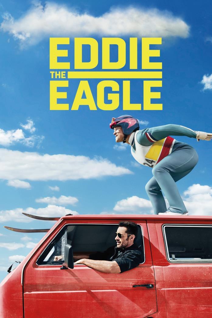 Eddie the Eagle - Il coraggio della follia: poster