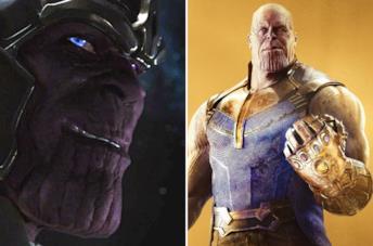 Il Thanos di The Avengers e quello di Avengers: Infinity War