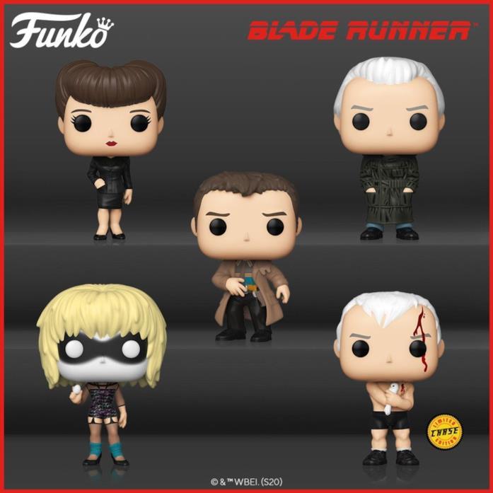 Blade Runner personaggi Funko
