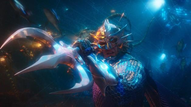 Mezzobusto di Patrick Wilson, nei panni di Orm, ovvero Ocean Master