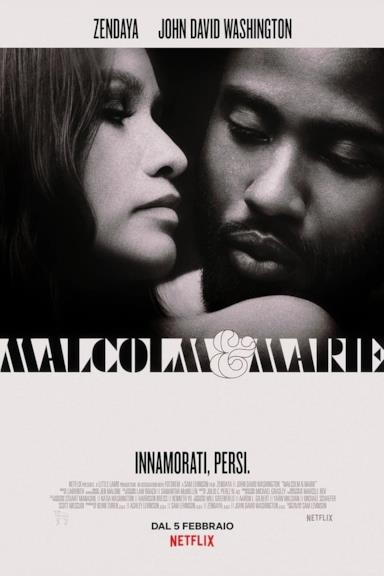 Poster Malcolm & Marie