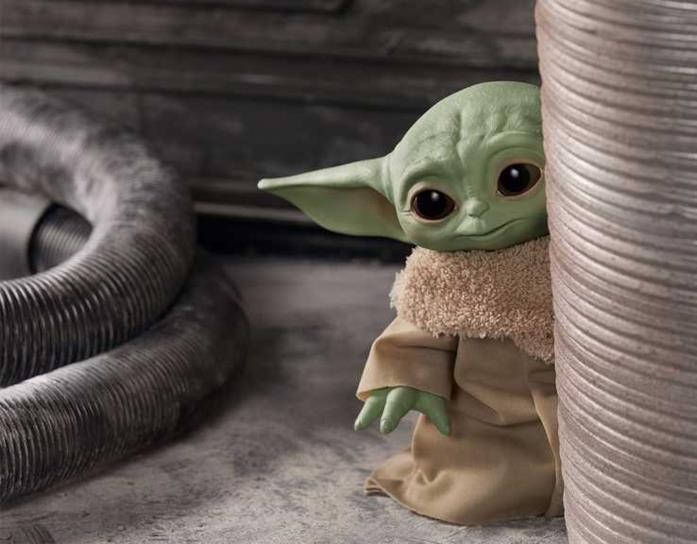 Hasbro: svelati i nuovi giocattoli ispirati a Baby Yoda