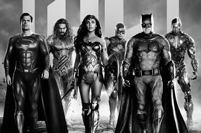 Immagine promozionale di Zack Snyder's Justice League