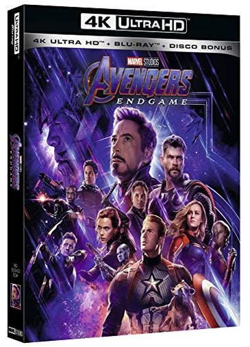Cofanetto Blu-ray di Avengers: Endgame