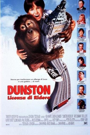 Poster Dunston - Licenza di ridere