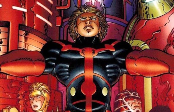 La cover di un albo dei fumetti Marvel dedicati agli Eterni