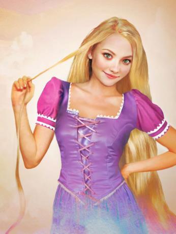 Dal cartoon Disney al mondo reale: Rapunzel
