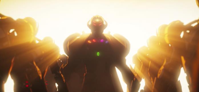 Ultron con le Gemme dell'Infinito