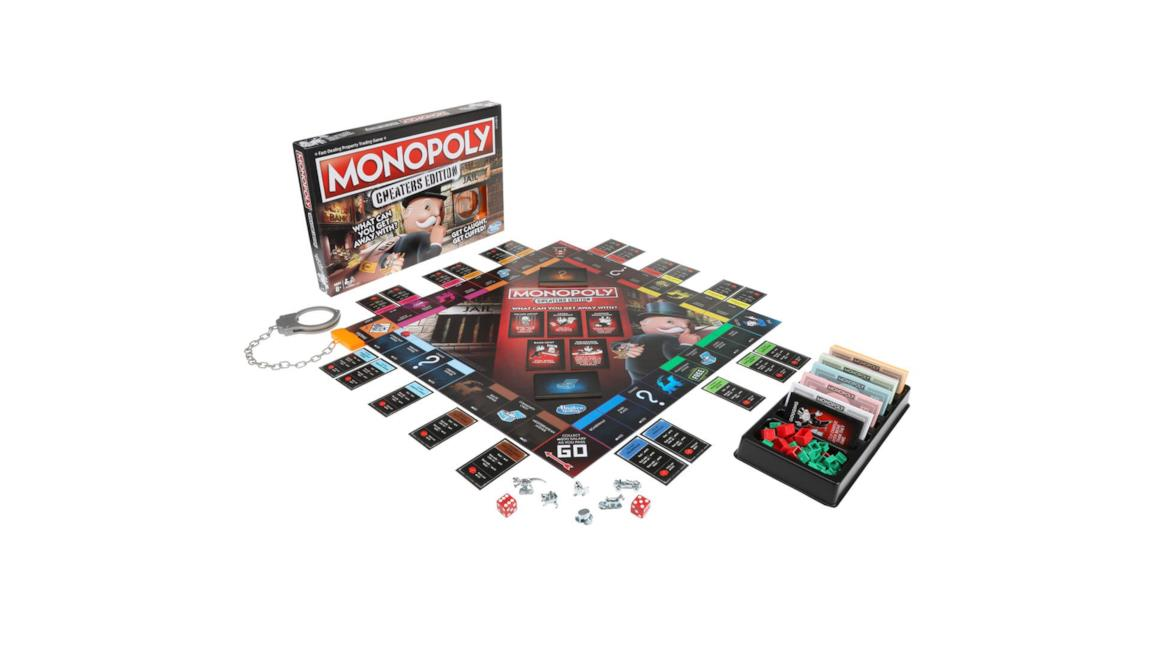 La foto della nuova edizione di Monopoly pensata per ci bara