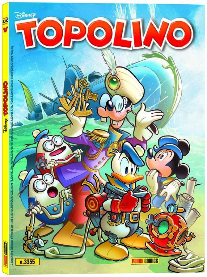 Topolino - numero 3355 con 19900 leghe sotto i mari