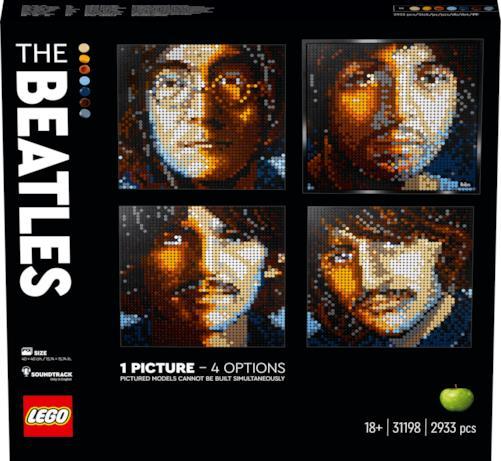 LEGO Art Beatles, i 4 membri del gruppo