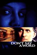 Poster Don't Say a Word