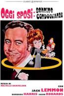Poster Oggi sposi: sentite condoglianze