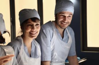 Alessandra Mastronardi e Lino Guanciale ne L'allieva