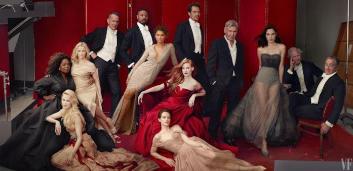 Le star in copertina sull'Hollywood Issue di Vanity Fair