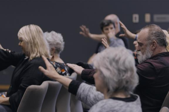 Una scena del documentario Netflix Pray Away